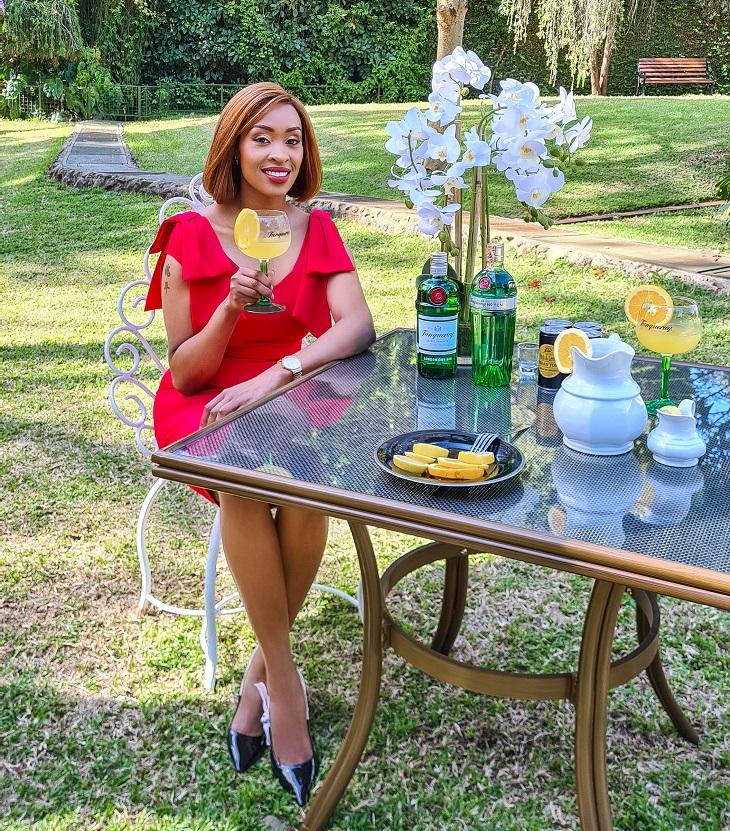 The Tanqueray Orange Lemon Gin Cooler Recipe
